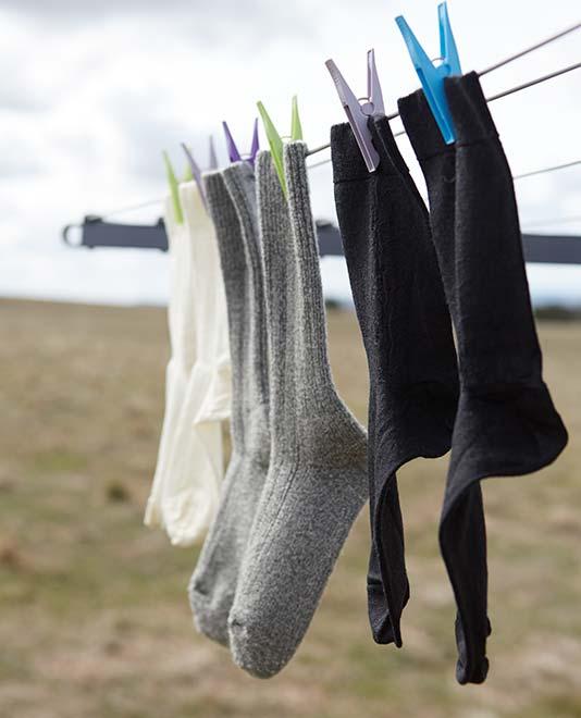 Jak prát merino ponožky