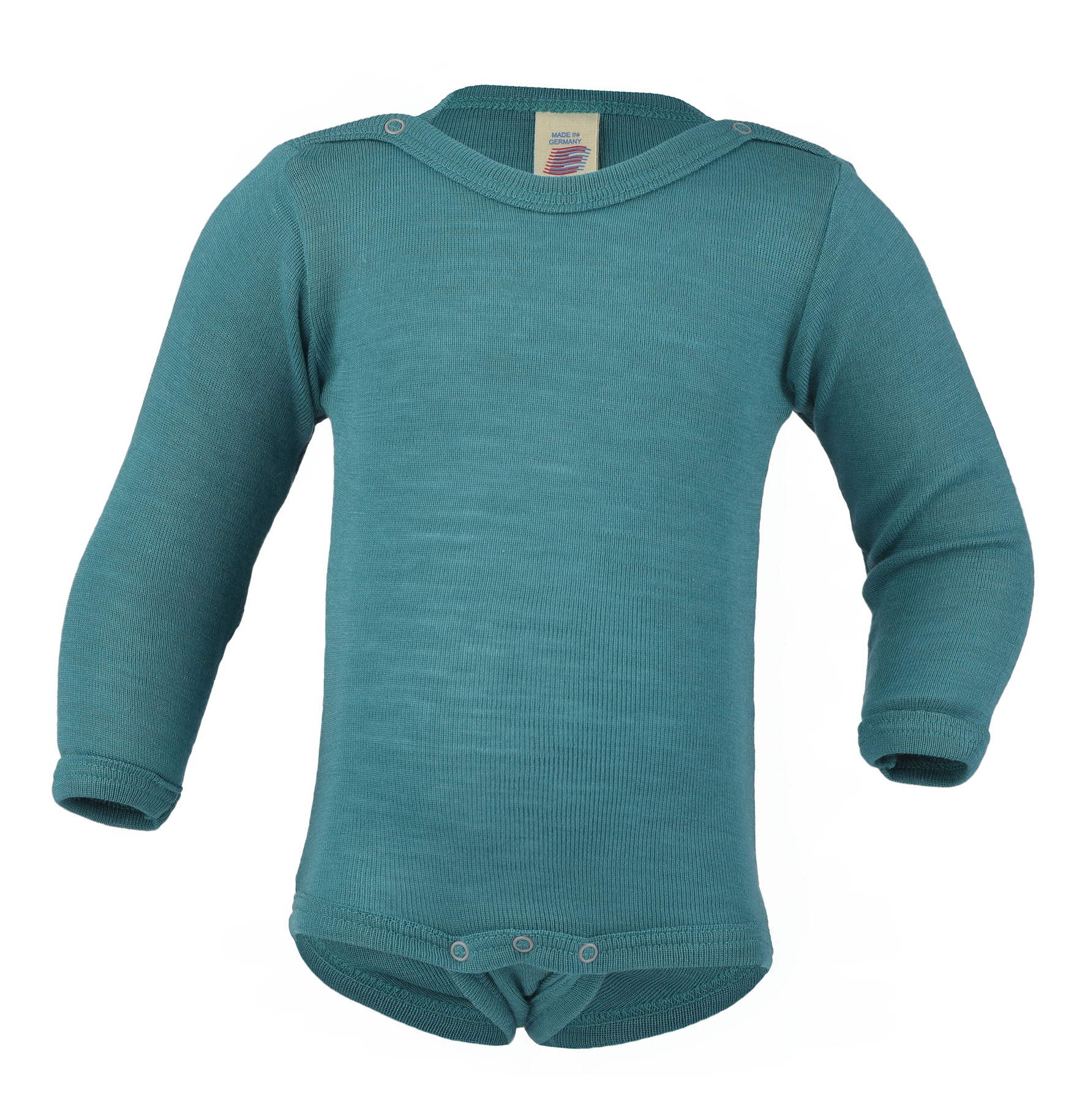 Merino/hedvábí body Engel - ice blue