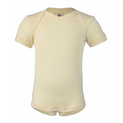 Merino/hedvábí body Engel - natural